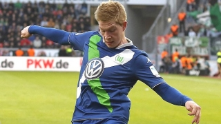 Wolfsburg star De Bruyne cannot ignore Man City interest