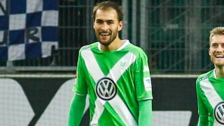 Southampton challenge Newcastle for Wolfsburg striker Bas Dost