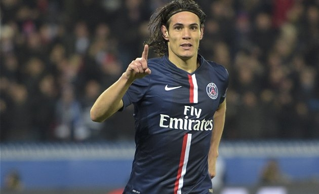Chelsea boss Conte sees PSG striker Cavani as Diego Costa replacement