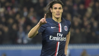 PSG intend to sell Arsenal, Man Utd target Cavani in January