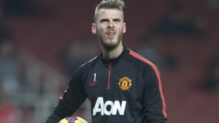 ​Man Utd insist keeper de Gea still a first team player