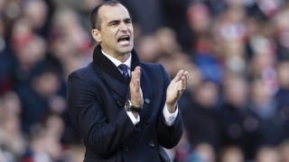 Composed Everton could have won Merseyside derby - Martinez