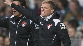 Eddie Howe happy in Bournemouth job