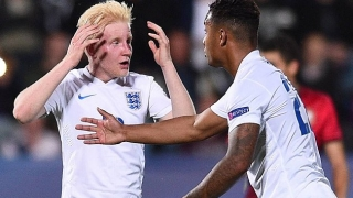 Man City whiz Barker scores as England U20 thump Holland