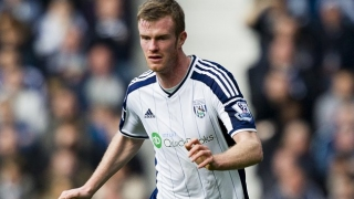 West Brom veteran Chris Brunt pleased with current form