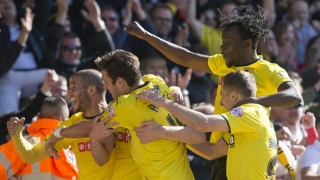Arlauskis biding his time but happy at Watford