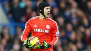 Arsenal keeper Cech plays down Chelsea rift with Mourinho