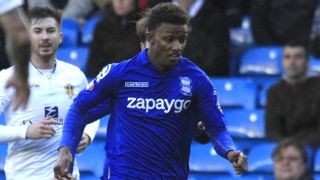 Birmingham winger Demarai Gray watched by Bayern Munich