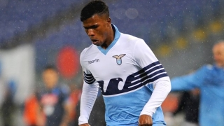 Lazio striker Keita Balde Diao reacts to Liverpool rumours