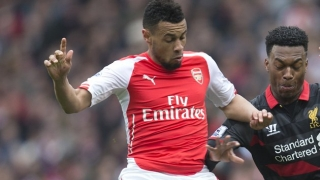 Coquelin felt he was in a war zone in first Arsenal training session