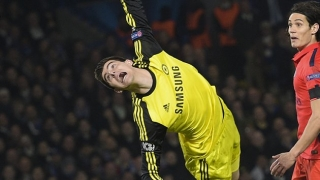 Courtois inspirational as Chelsea defeat PSG on penalties
