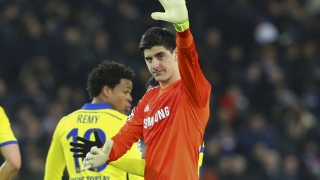 Chelsea keeper Courtois sets himself return date target