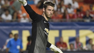 Man Utd boss LVG hints at Real Madrid move for De Gea