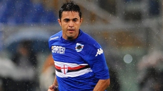 Inter Milan target Eder happy at Sampdoria