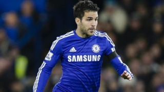 ​Fabregas talks up chances of Chelsea success in Champions League