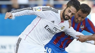 Man City chiefs encouraged in bid for Real Madrid midfielder Isco