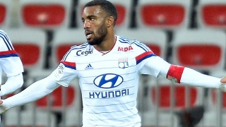 Newcastle chief scout Carr checks on Lyon striker Lacazette