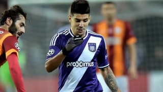 Anderlecht striker Mitrovic: I have Roma offer