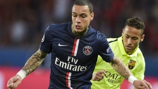 Raiola eager to offer PSG outcast Van der Wiel to Man Utd