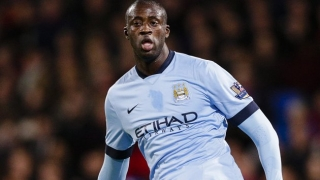 Yaya Toure illuminates in new Man City kit