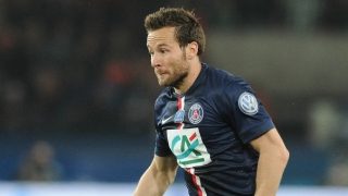 Crystal Palace frontrunners for PSG midfielder Cabaye