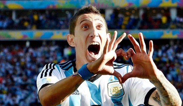 LVG philosophy forced me out of Man Utd - PSG winger Di Maria