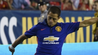 Man Utd striker Chicharito on Sevilla radar