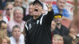 Olsson jumps to defence of West Brom boss Pulis as crowds fall
