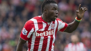 Stoke boss Hughes still sees Diouf as a striker