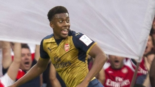 Arsenal boss Wenger rules out loan exit for Alex Iwobi