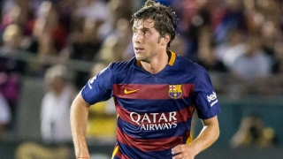 Barcelona boss Enrique pleased with Sergi Roberto form