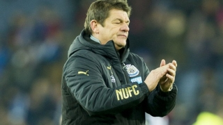 Newcastle hero Carver backing Bruce for job