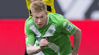 Man City due to announce £54M De Bruyne signing today