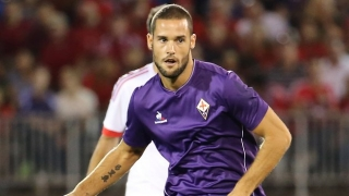 Fiorentina signing Mario Suarez receives Atletico Madrid tribute