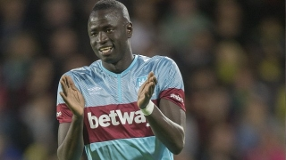 West Ham midfielder Cheikhou Kouyate hit by injury