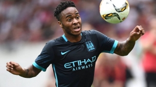 Man  City boss Pellegrini delighted Sterling off mark