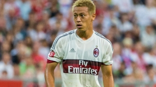 Spurs, West Ham target Honda: AC Milan situation difficult