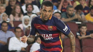 Barcelona fullback Alves: Arsenal lack winning mentality