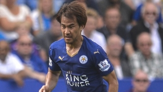 Schalke interested in loan for Leicester striker Okazaki
