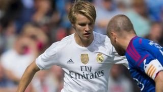 Real Madrid whiz Odegaard blanked for European competition