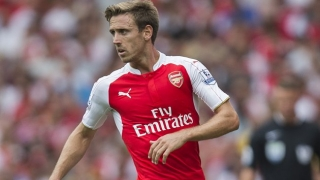 Arsenal fullback Nacho Monreal: I'm happy here
