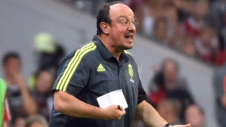 Benitez happy with 10-goal Real Madrid romp