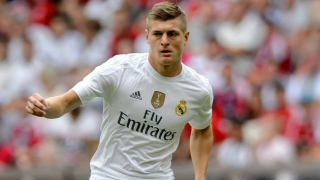 No more Man Utd talk coming from Real Madrid star Kroos…
