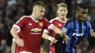 Man Utd boss LVG sets Shaw playing target