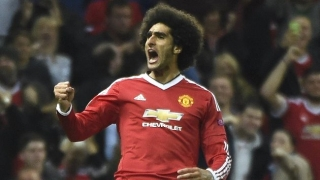 Mourinho blames pitch for Fellaini error as Man Utd lift Community Shield