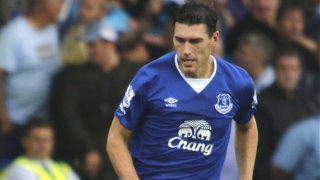 Gareth Barry delighted to get goal in Everton win