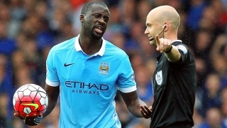 Man City to be without Toure, Hart and Kompany for Monchengladbach