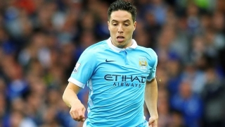 Nasri buoyed by Man City world domination plans