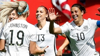 ​US women hit five past New Zealand