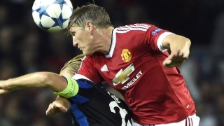 Bastian Schweinsteiger told to train with Man Utd reserves